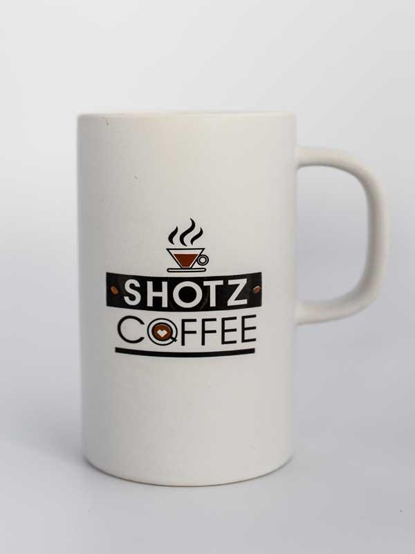 12 Oz Ceramic Coffee Mug White